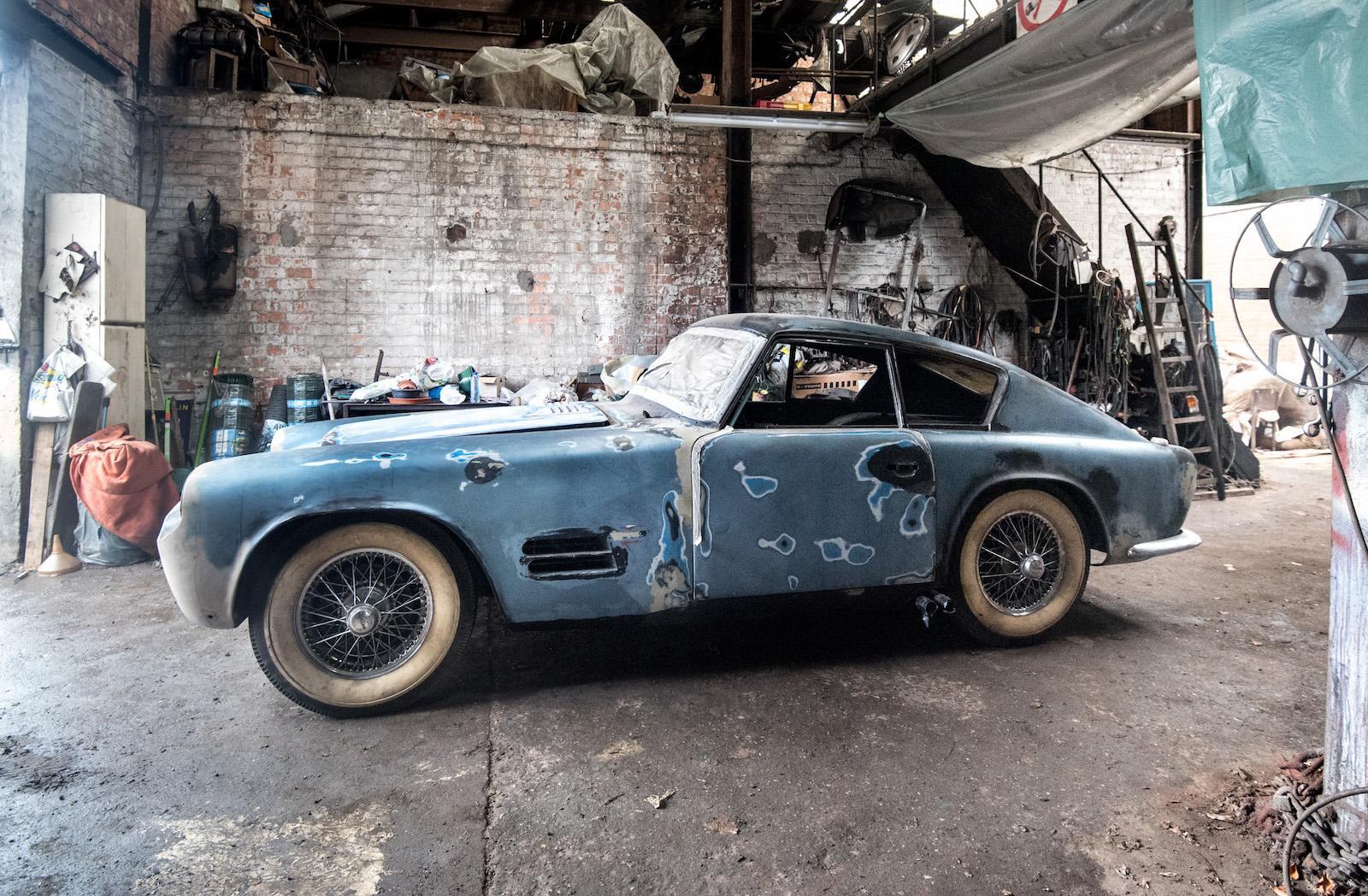 В Бельгии нашли раритетный Jaguar