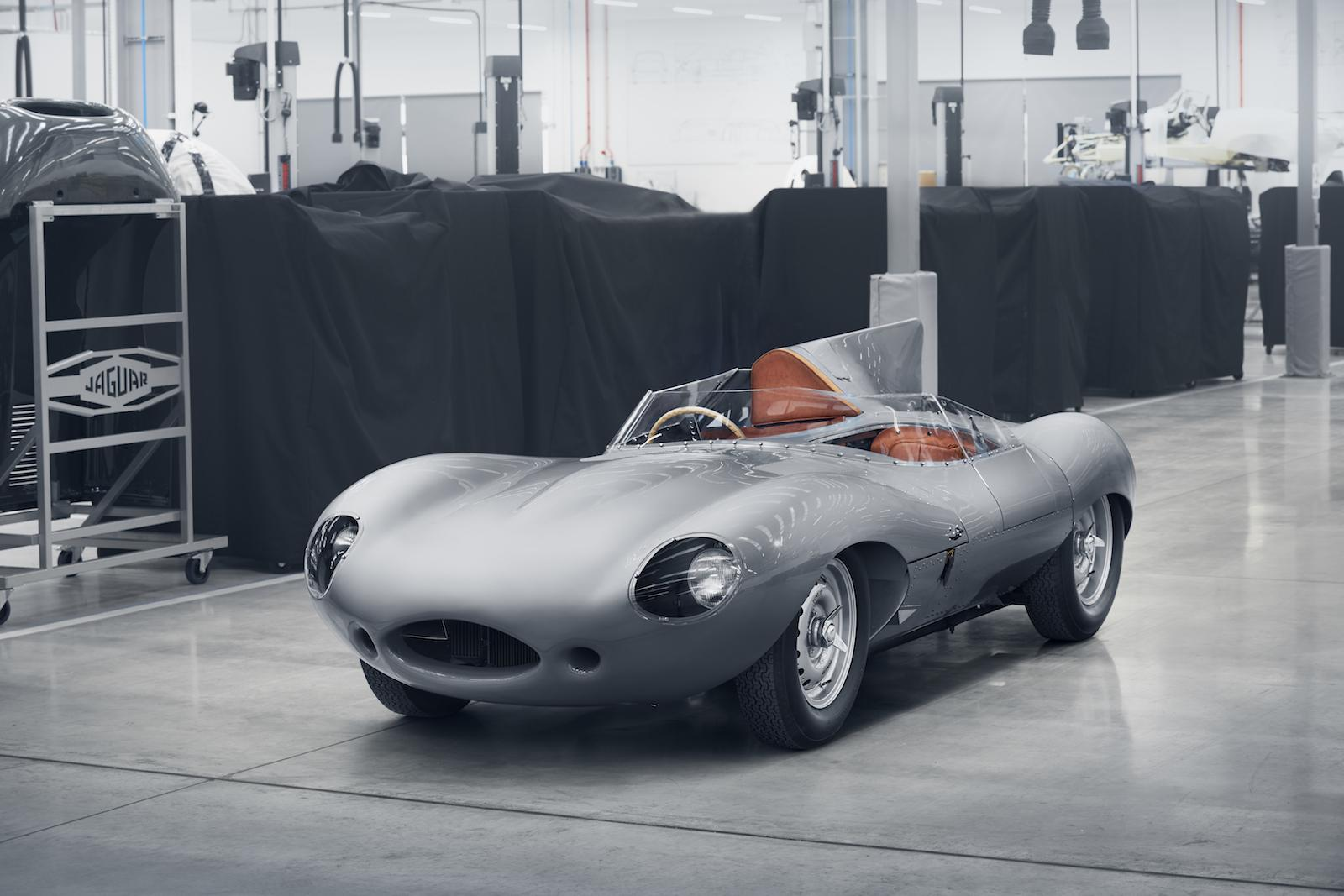 Jaguar brings back the legendary D-type!