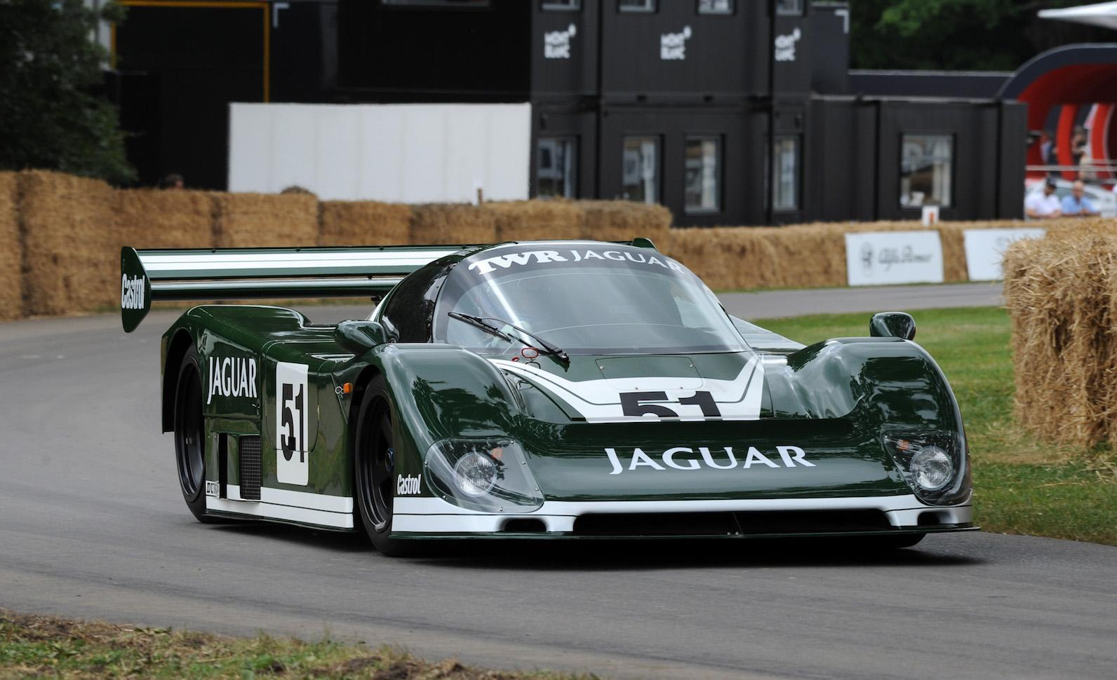 Le Mans XJ220C and Group C Jaguars at XK70 festival