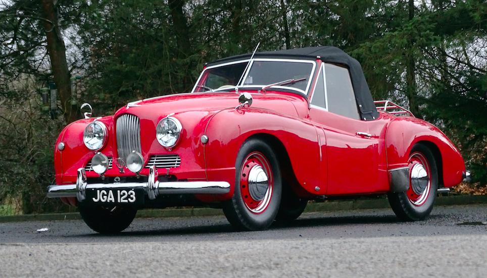 Competition Jowett leads H&H Duxford auction