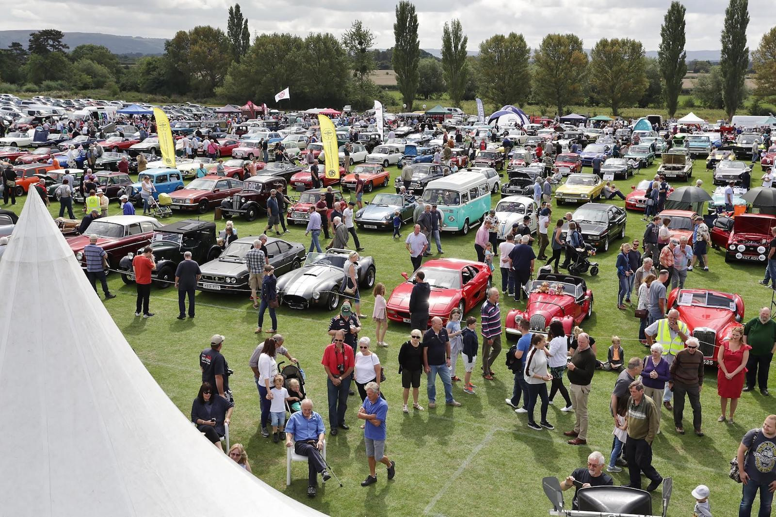 Over 1000 cars set for Tewkesbury Classic Vehicle Festival