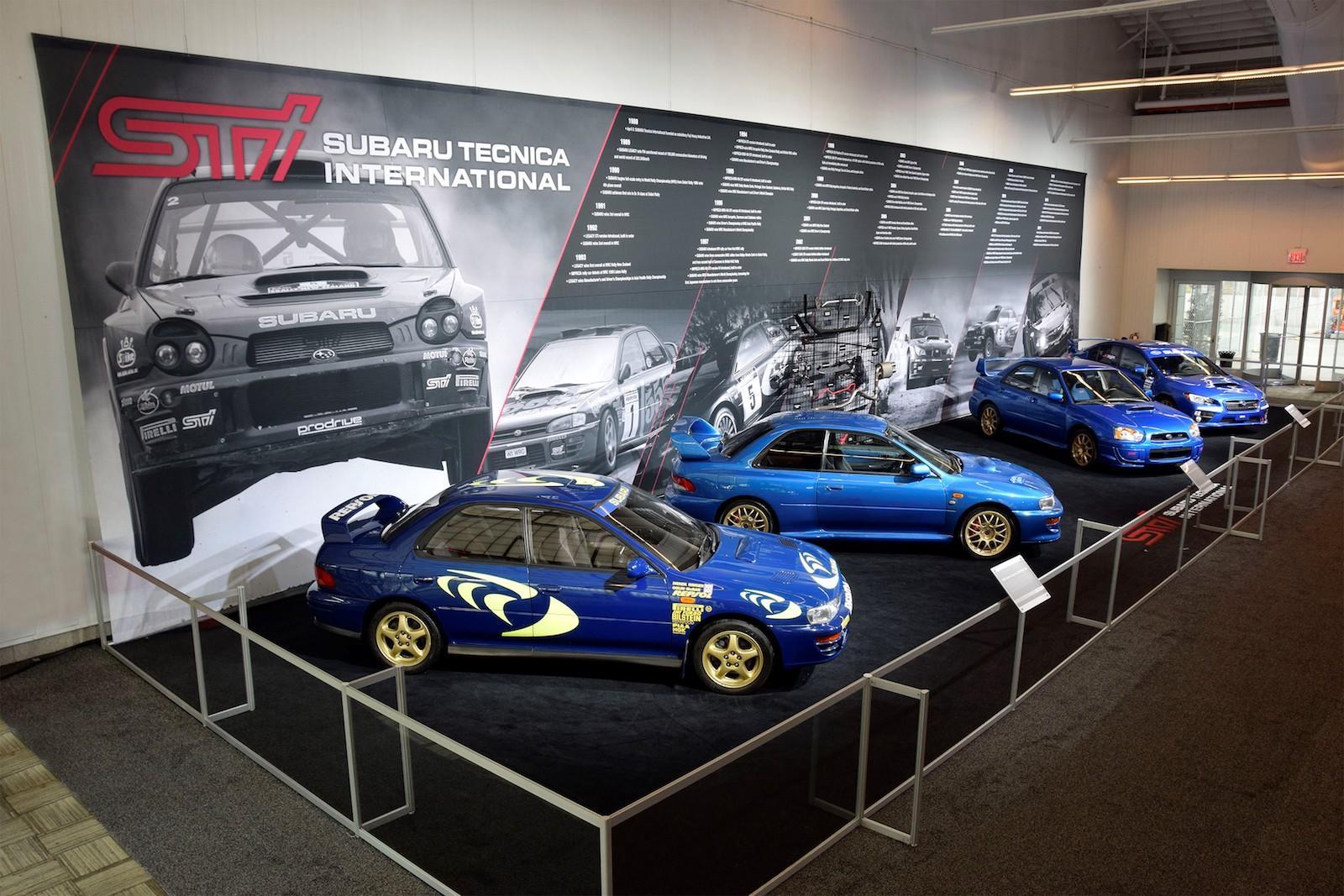 30 years of Subaru STI performance madness!