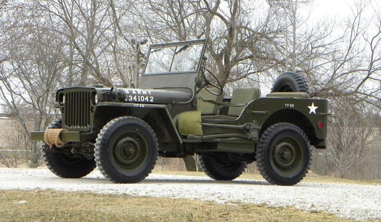 Classifieds Hero: 1942 WWII Jeep