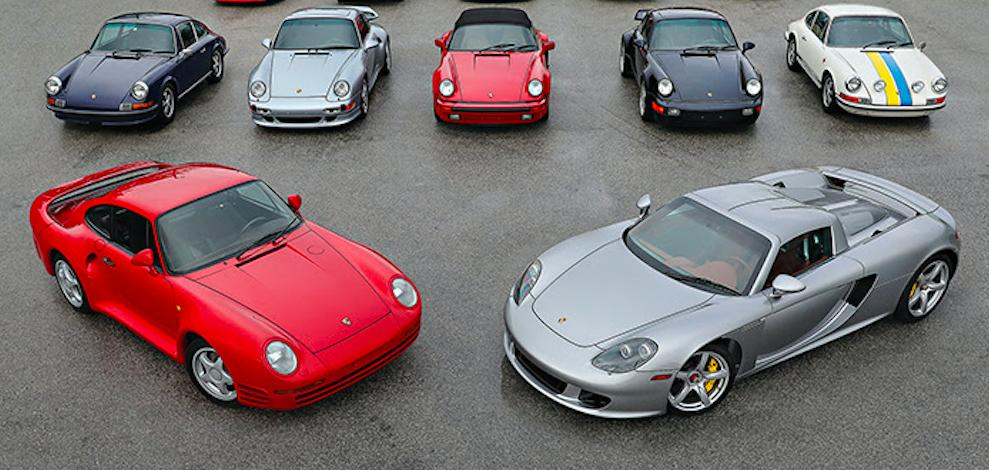 James G Hascall Porsche collection to be auctioned