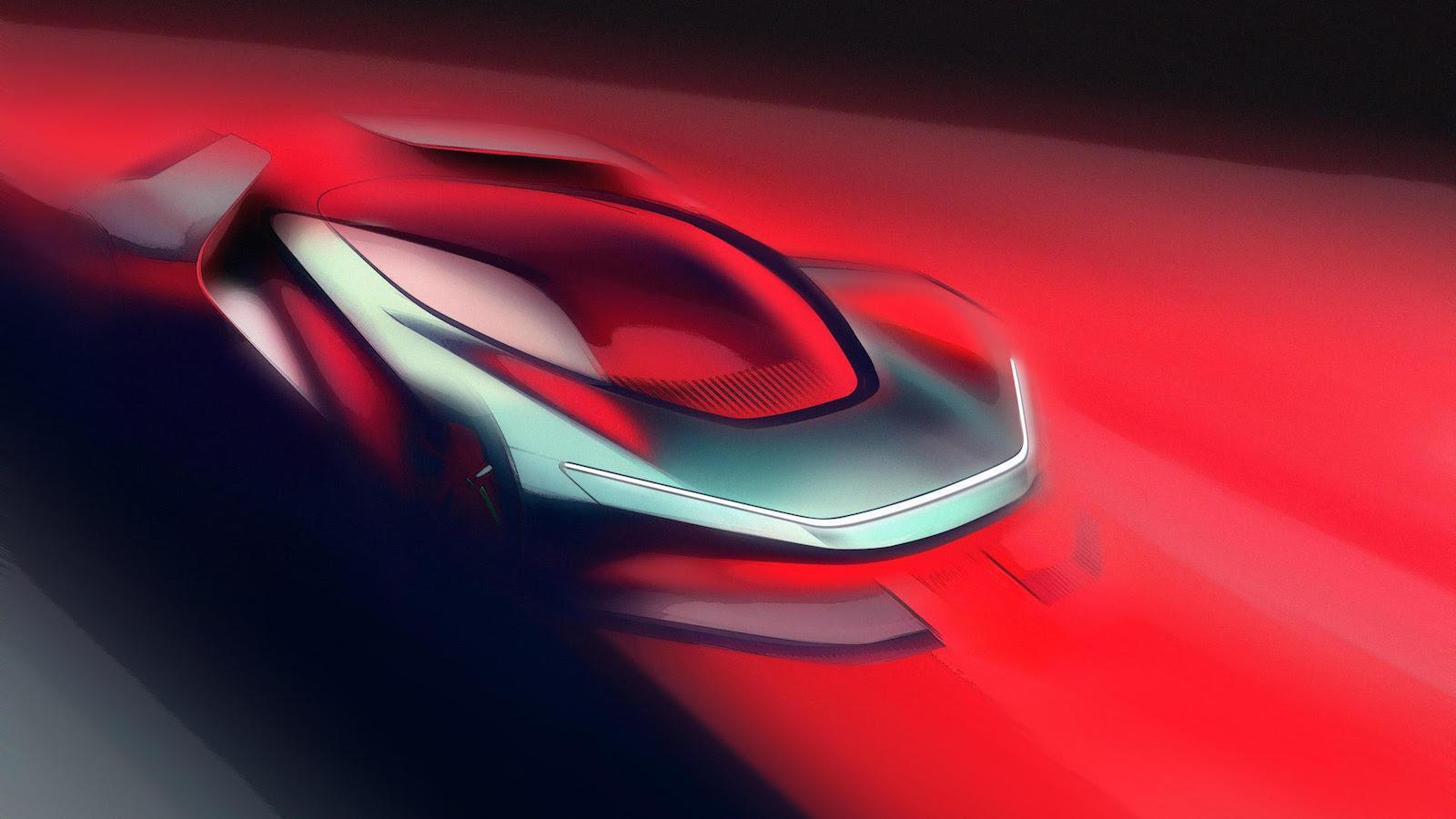 First teasers of Automobili Pininfarina's new 2000bhp hypercar