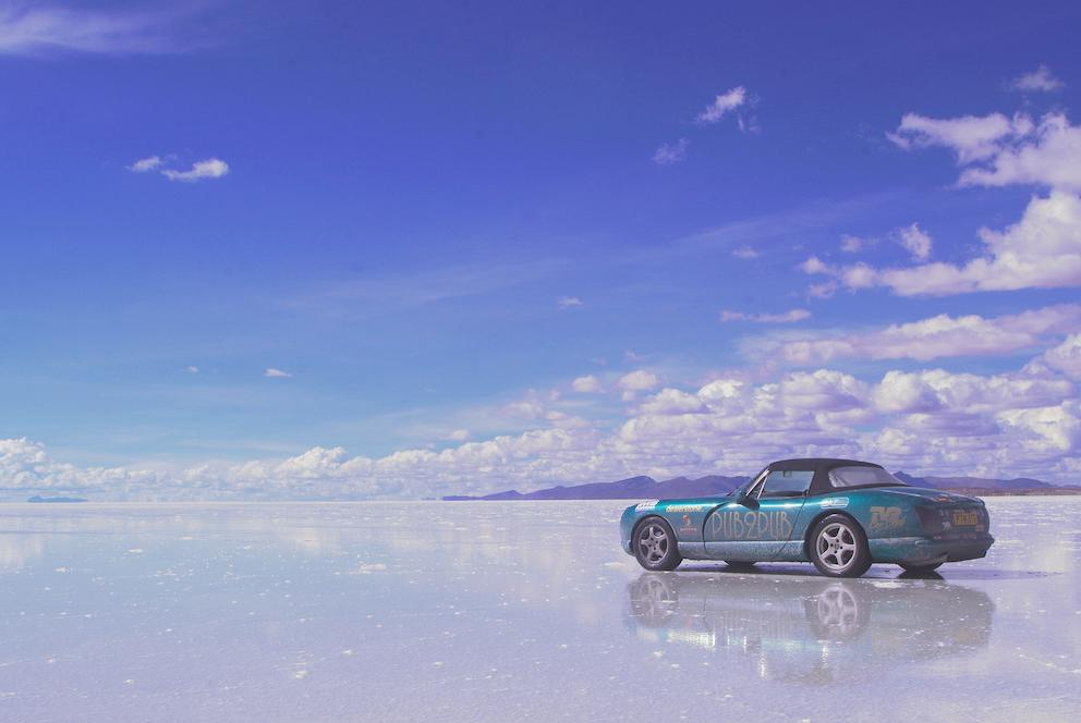 20,000 miles from North Pole to South America – in a TVR!
