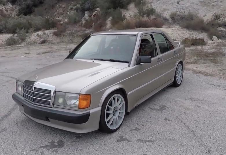 This Tuned Mercedes-Benz 190 E Is The Ultimate Canyon Runner