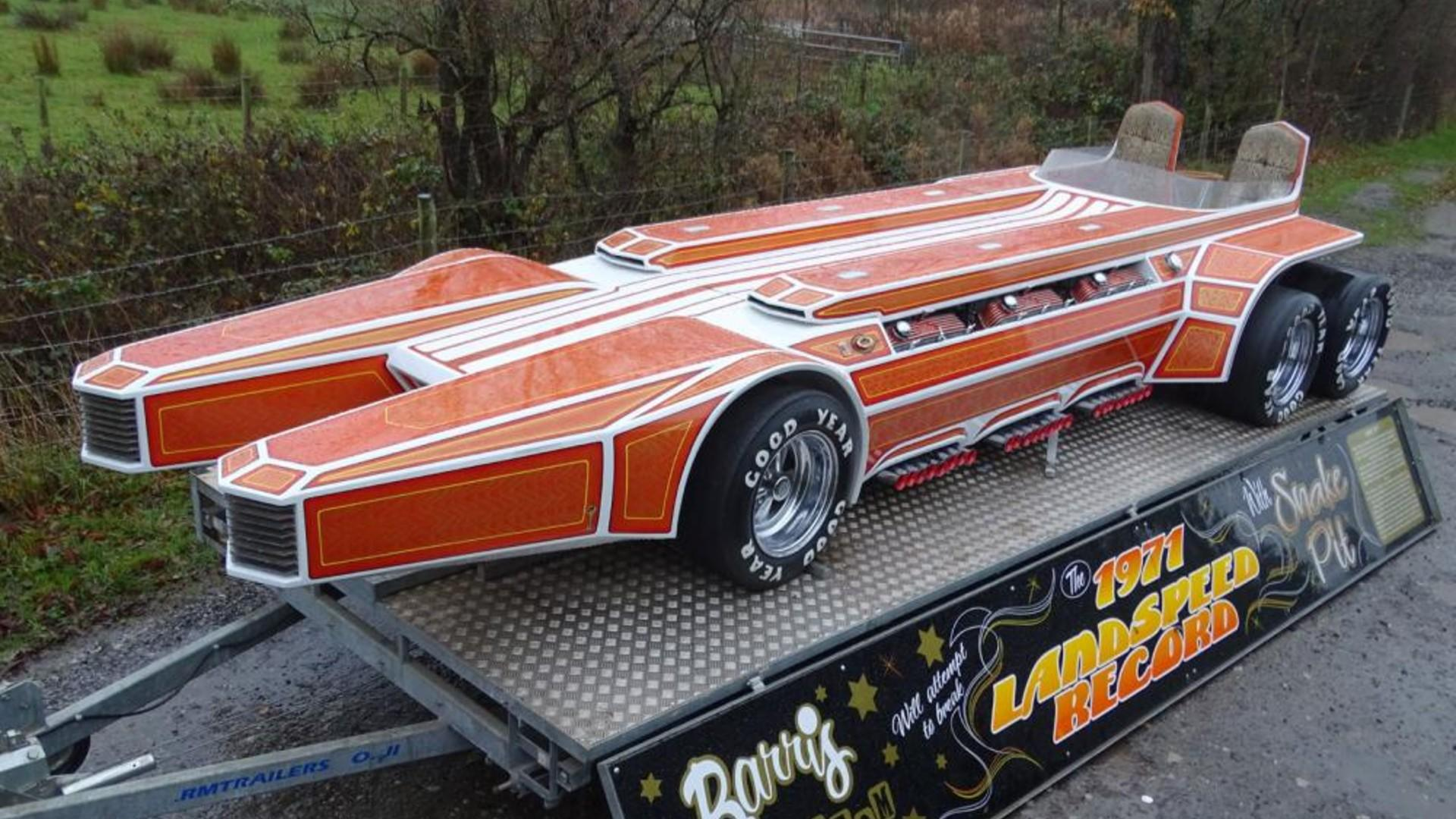 300mph Barris Snakepit Dragster Sells For Bargain Price