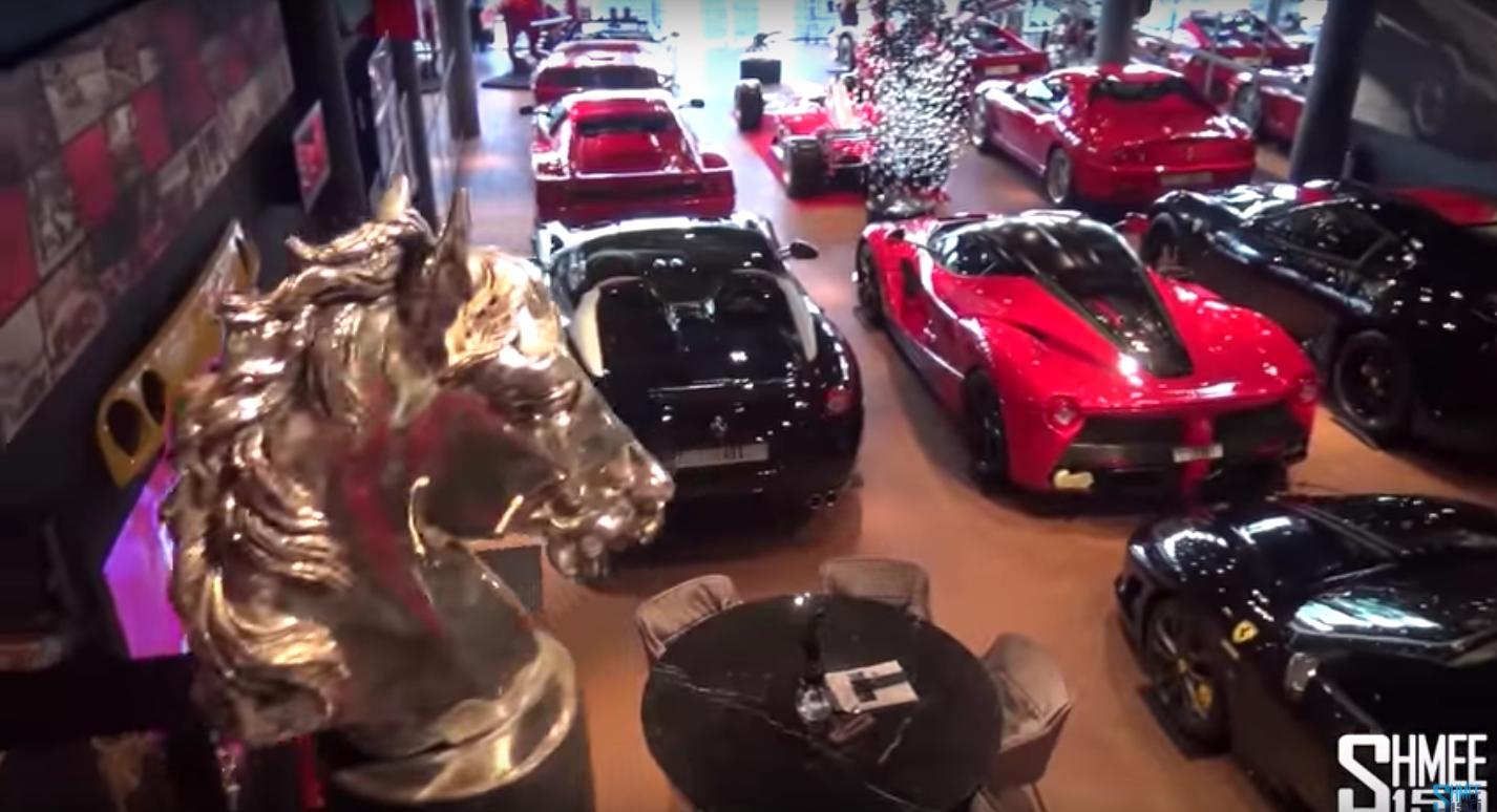 This Is The Ultimate Ferrari Mancave
