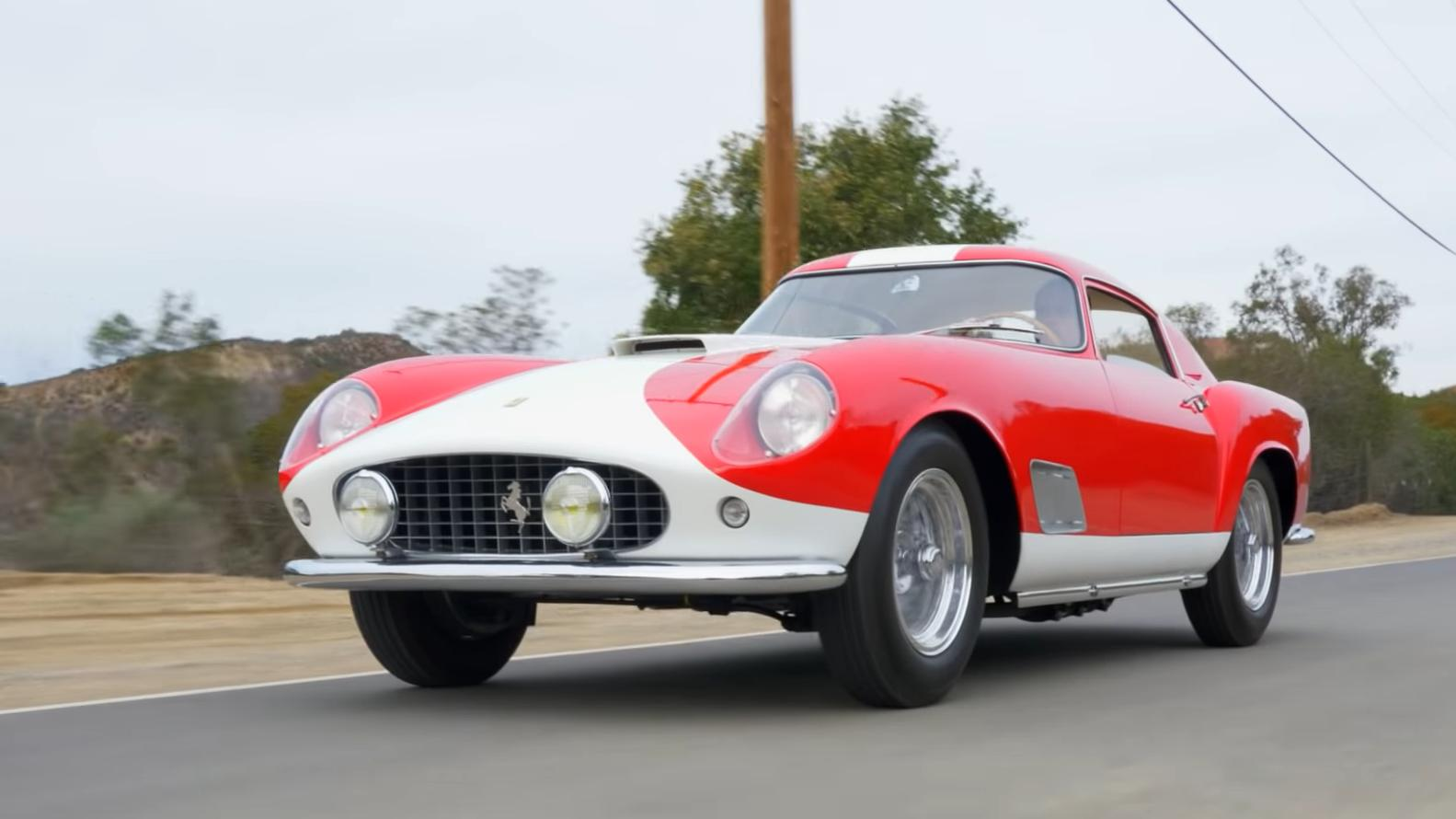 Rare 1958 Ferrari 250 GT TdF Berlinetta sells for $5,890,000