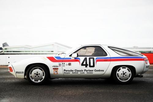 Driving Richard Attwood's Porsche 928 racer