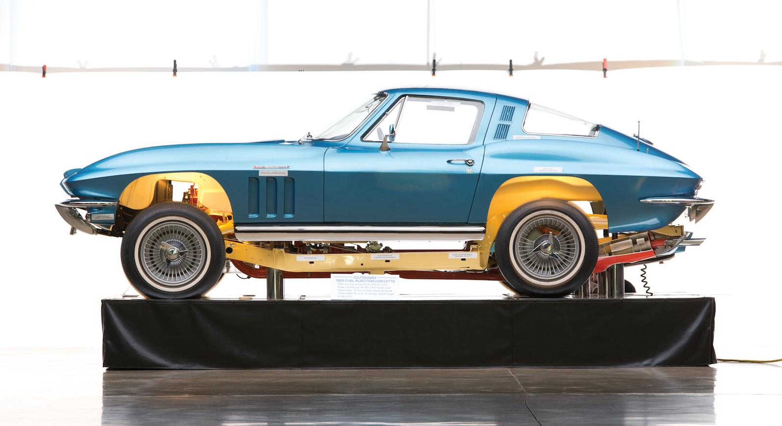 Amazing cutaway Corvette joins Scottsdale sale line-up