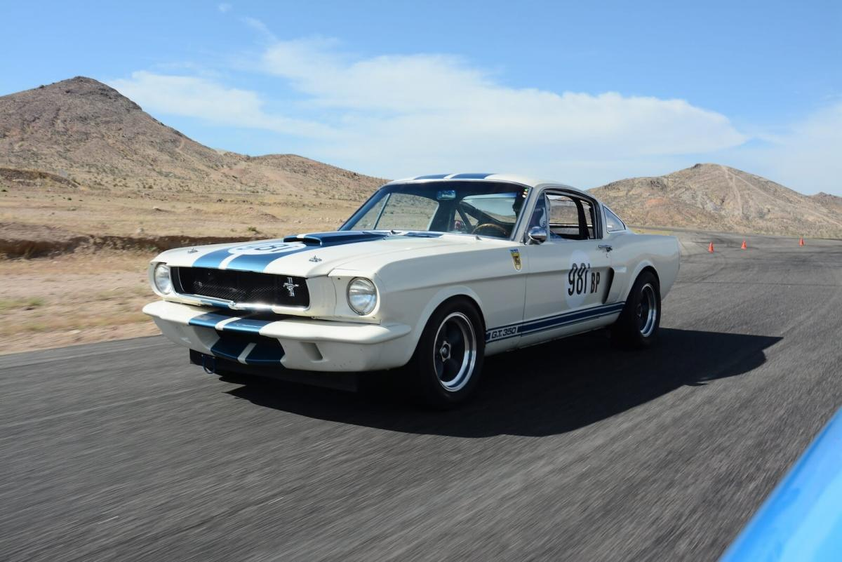 Driving the new old shelby mustang gt350 competition autoclassics com