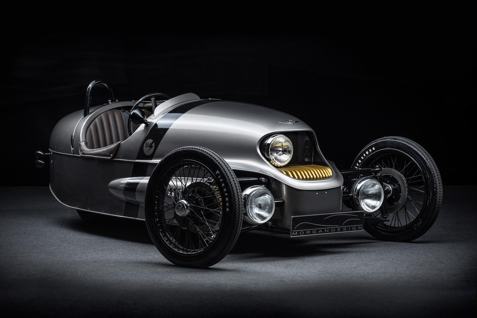Electric Morgan three-wheeler set for 2018 production