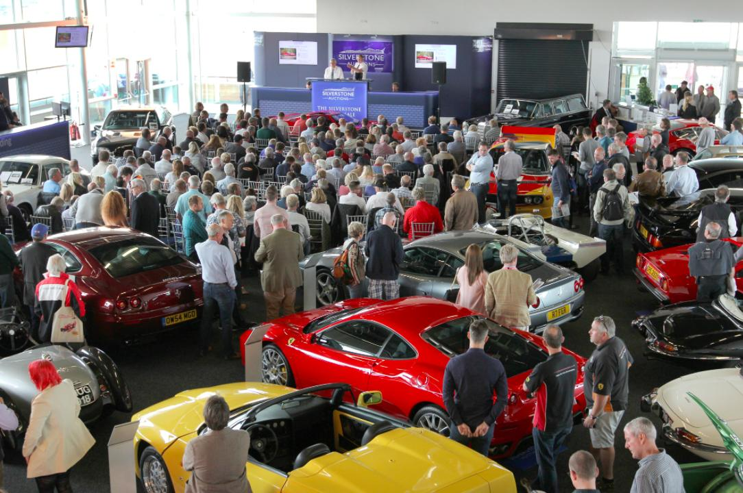 Silverstone Auctions to host 2018 inaugural Ferrari sale