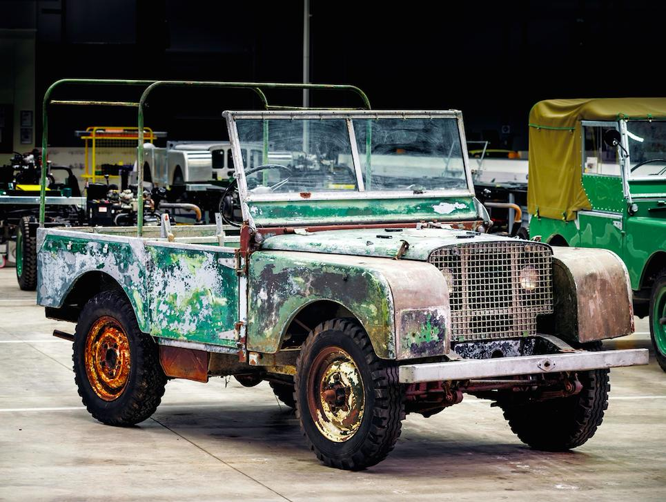 Land Rover to restore the 'missing' launch Series 1