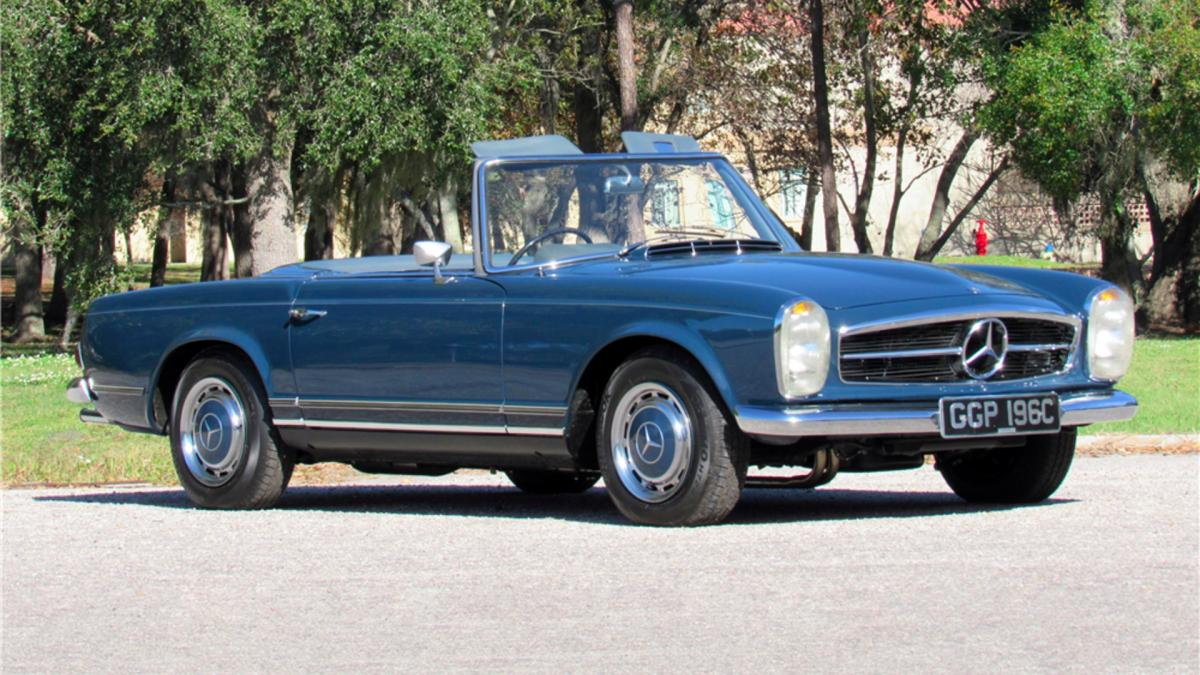 John Lennon's 1965 Mercedes-Benz 230SL Heads To Auction