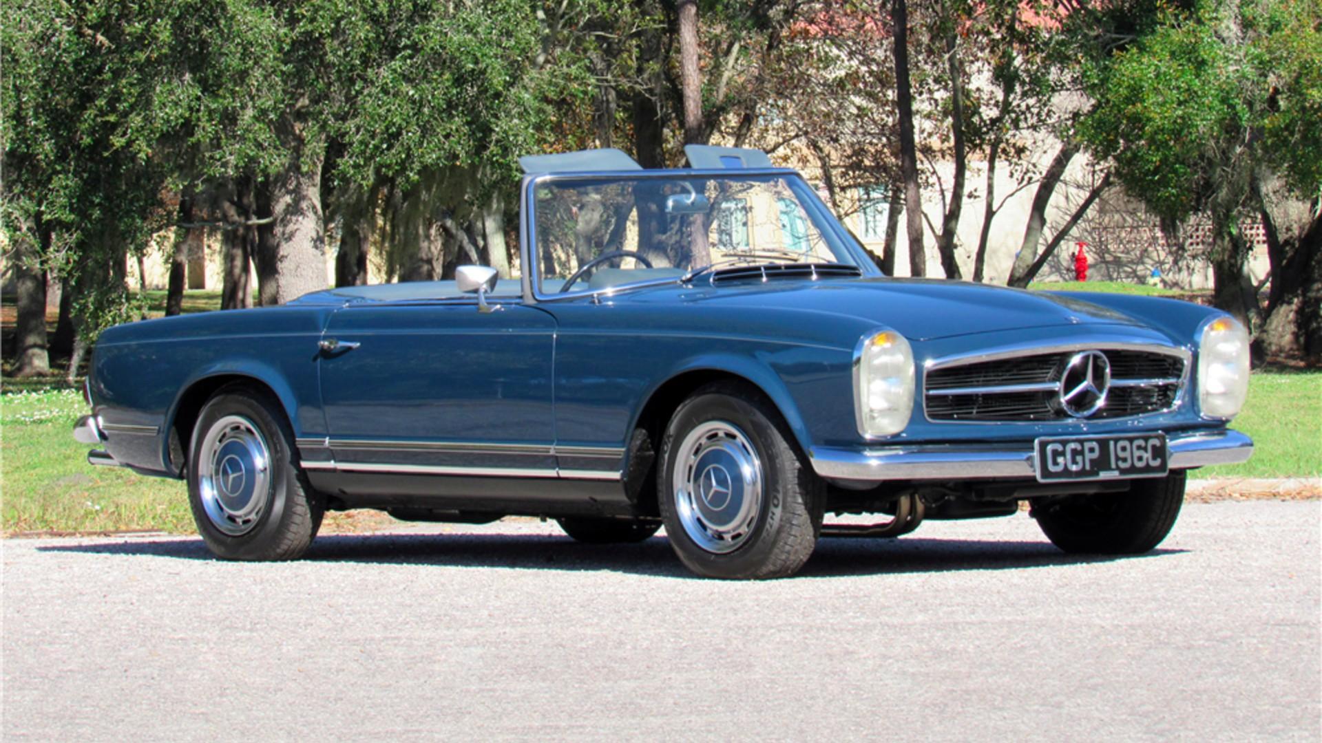 John Lennon's 1965 Mercedes-Benz 230SL heads to auction