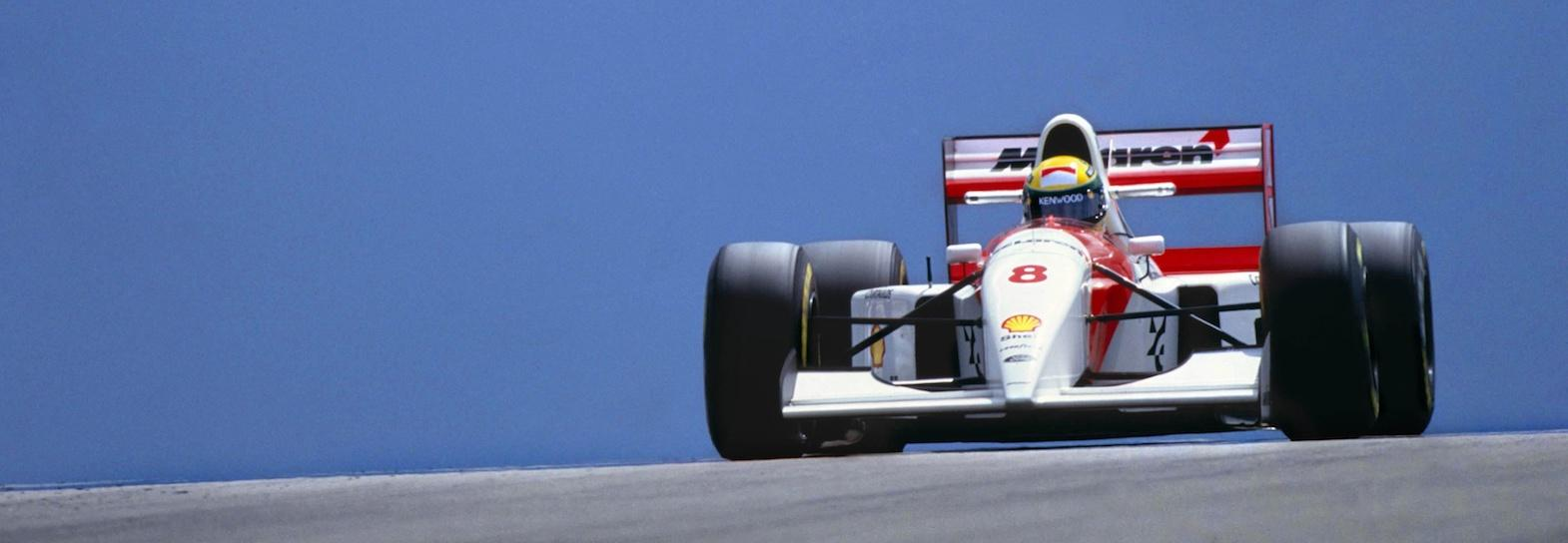 How Senna's McLaren has come up for auction