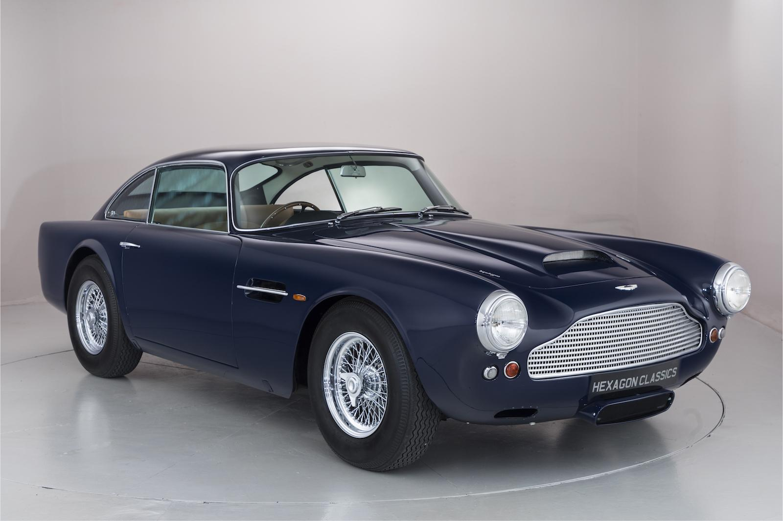 Rare pre-production Aston DB4 goes on sale in London