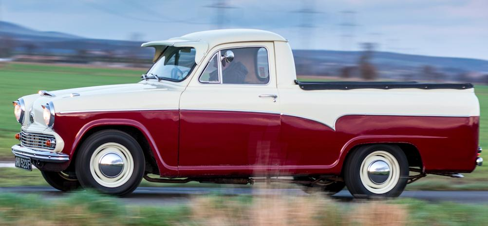 Driven: MG-powered 1968 Austin A55 Pick-up