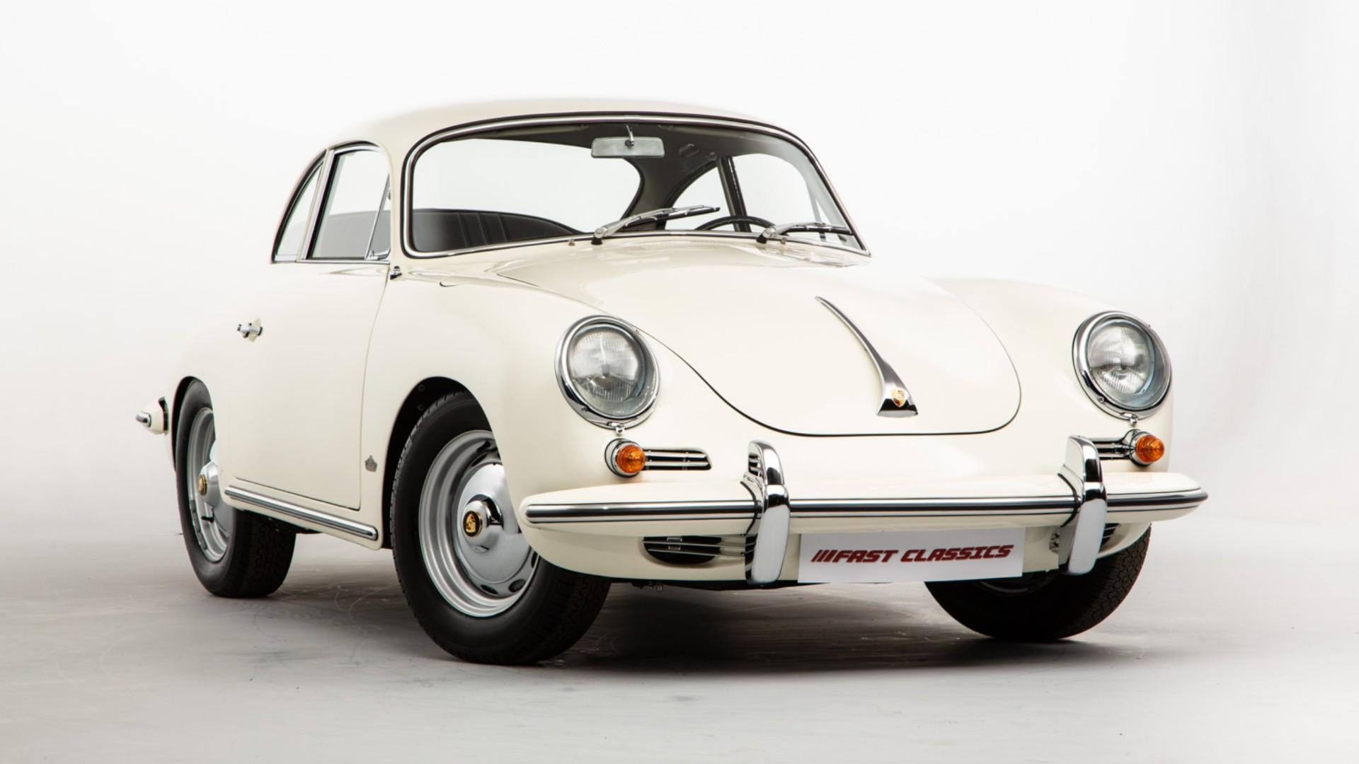 Step back in time with this pristine Porsche 356