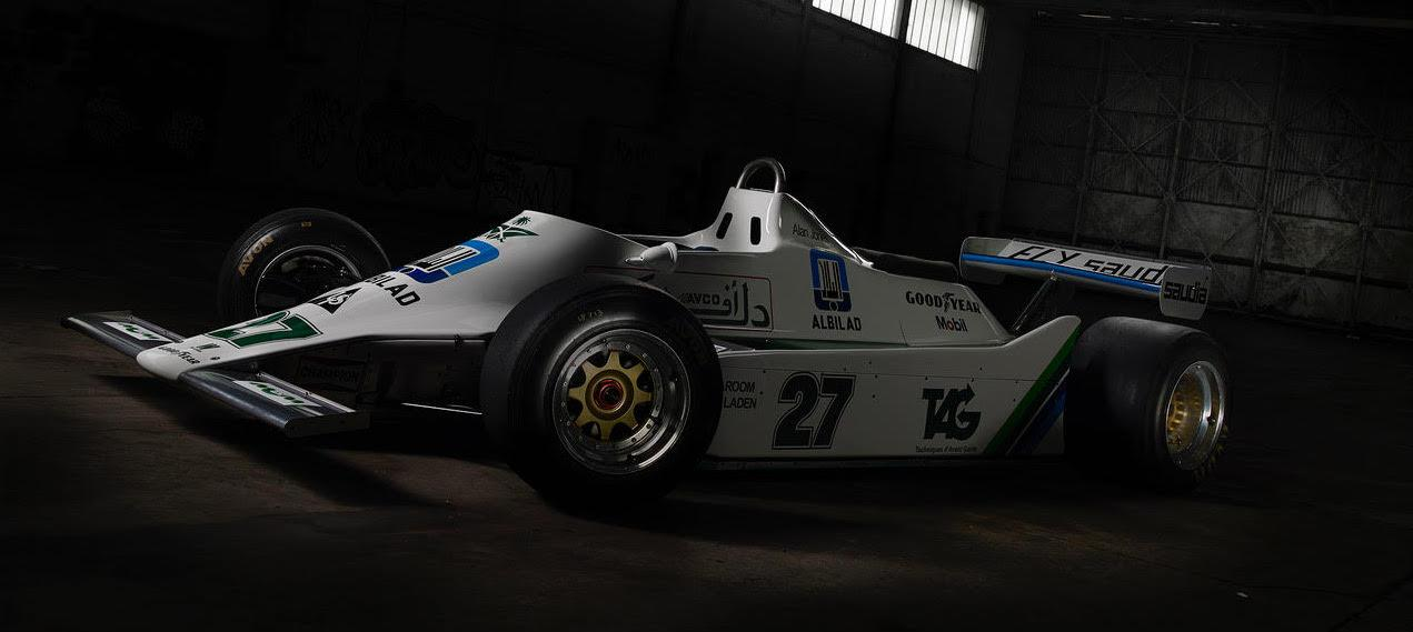 Winning Williams F1 car leads first ever Race Cars Direct auction