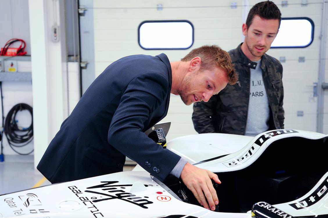 Jenson Button at JD Classics Breakfast