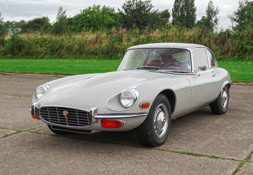 Pete Waterman's 'Ghost' E-type for sale