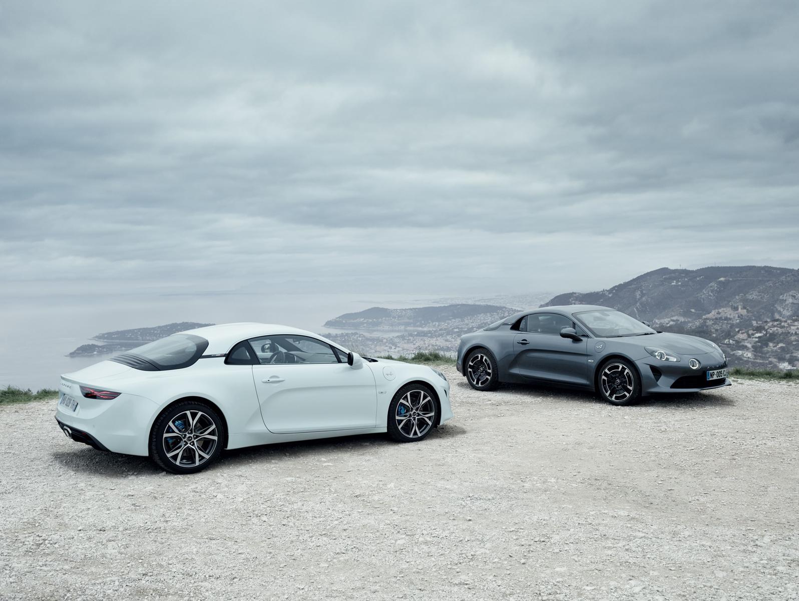 Latest Alpine models revealed at Geneva Motor Show