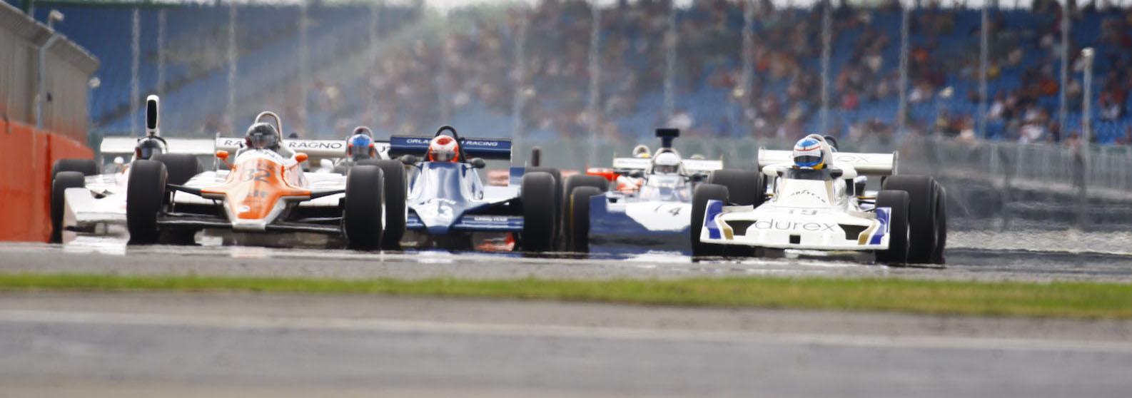 Historic F1 races to support 2018 British Grand Prix