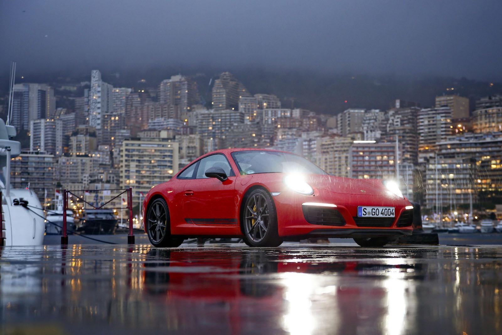 First drive: new Porsche 911 Carrera T