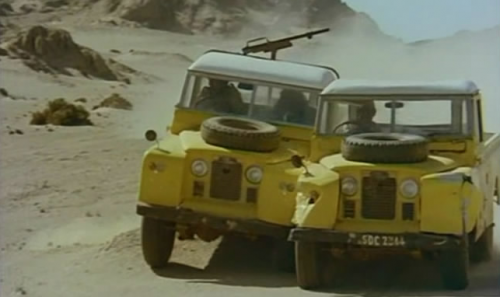 Classic Cars in Film: Land Rovers in Killer Force