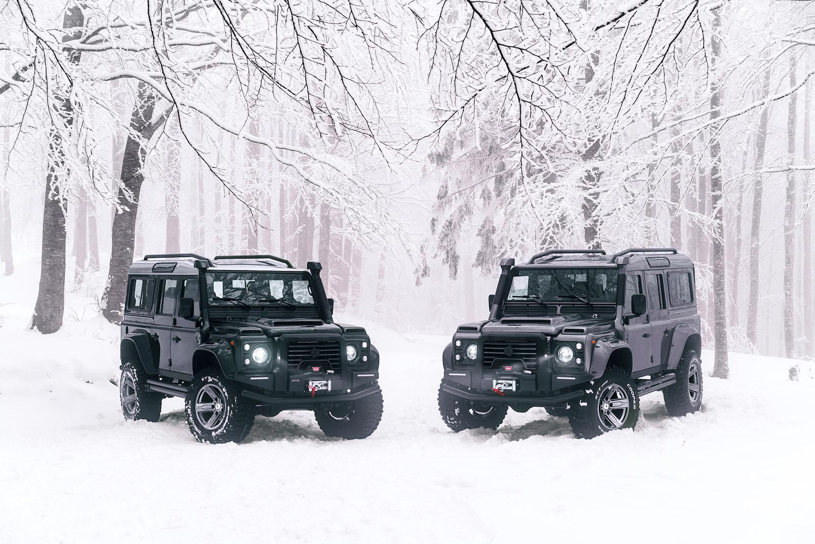 First drive: ARES Design Land Rover Defender