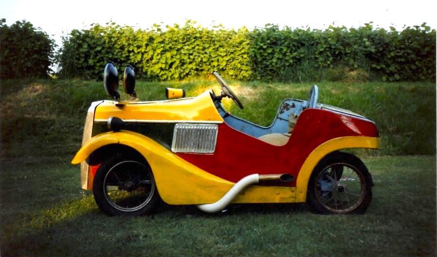 I wish I'd kept my... 1940s fairground car