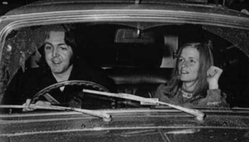 Resultado de imagen de mccartney 1965 mini cooper