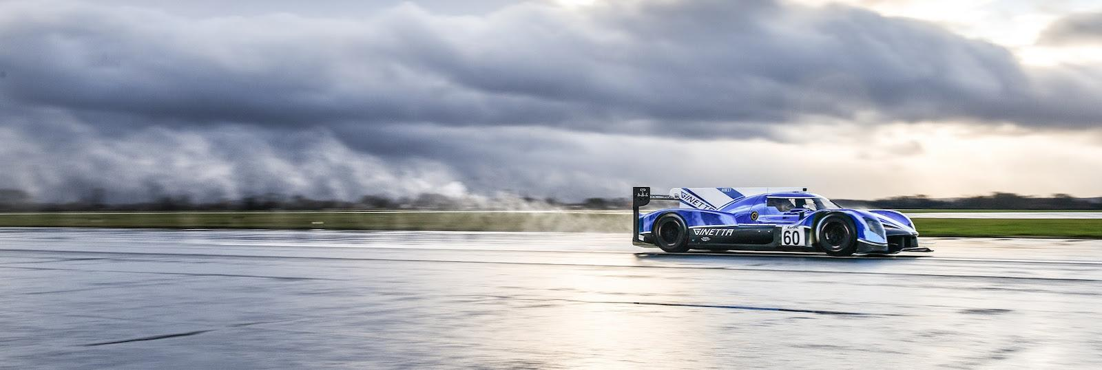 Ginetta completes first runs with new LMP1 car