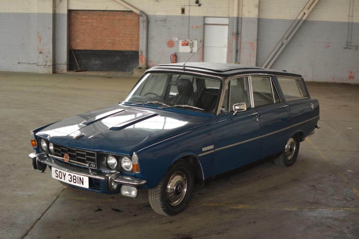 Rover P6 V8 shooting-brake to feature in Affordable Classics auction