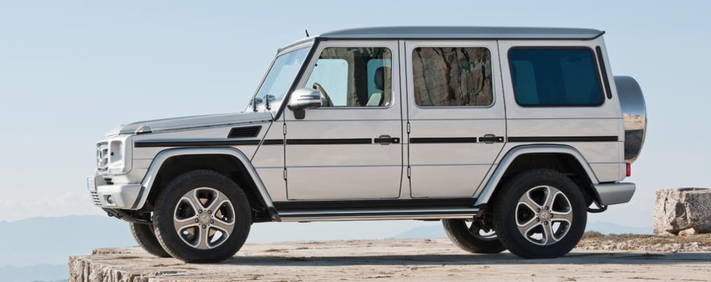Evolution of the Mercedes G-Wagen