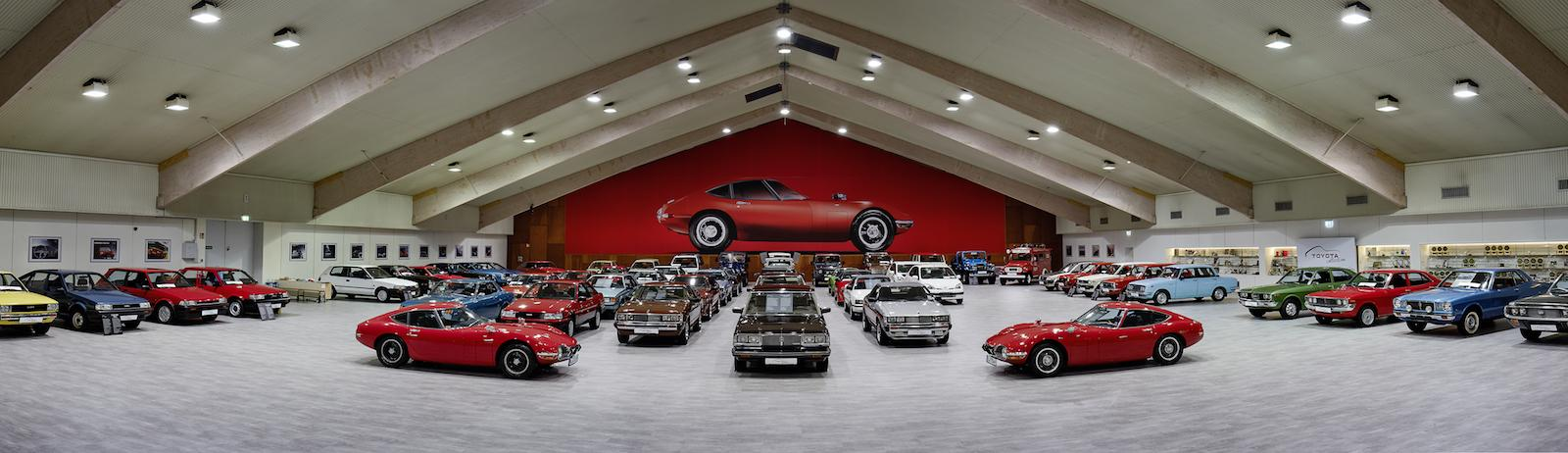 Doors open at German Toyota Collection