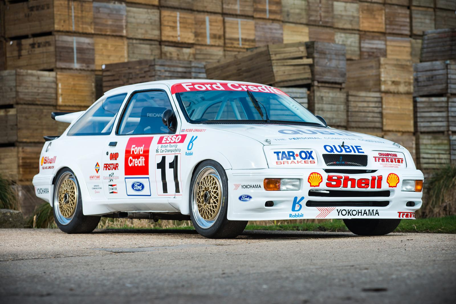 Last Group A BTCC-title winning Ford Sierra Cosworth RS500 for sale