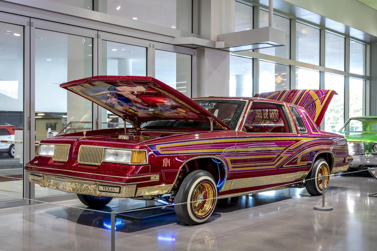 More outrageous lowriders join Petersen exhibit
