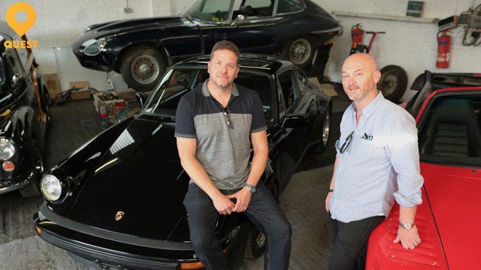 New Salvage Hunters classic car TV series