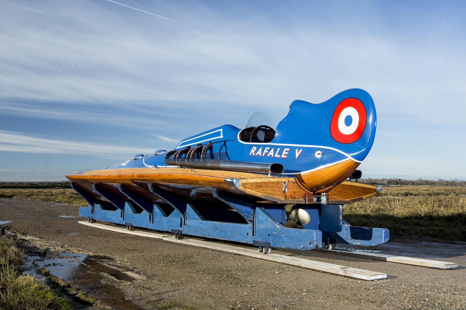 Bonhams to sell record-breaking Hispano-Suiza hydroplane