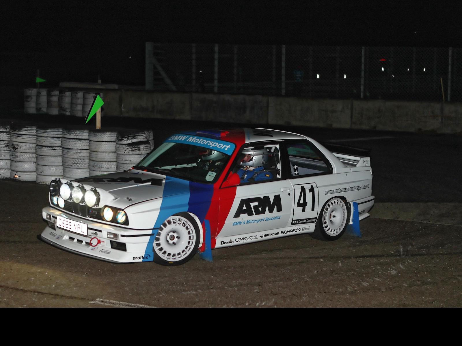 Rally heroes: Joe Geach's BMW E30 M3