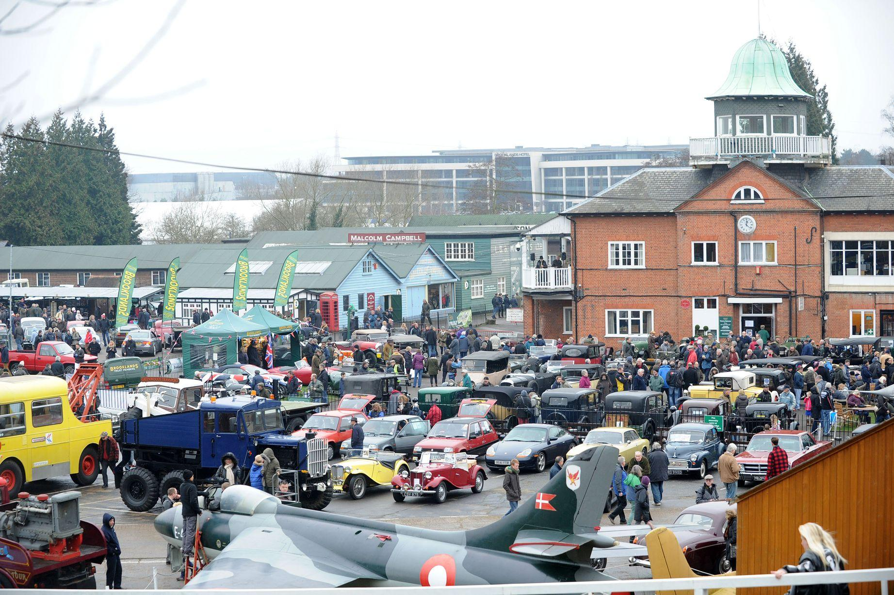 The UK's best New Year's Day classic car events