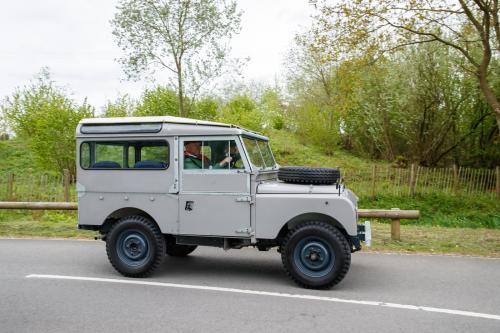 Driven: Land Rover Series 1 on the 70th anniversary convoy