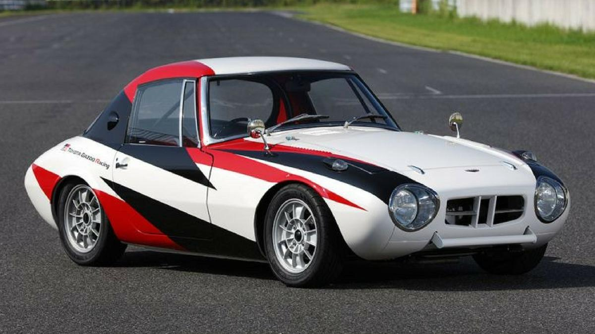 Toyota Restore Its Oldest Surviving Race Car U2013 The Sports 800