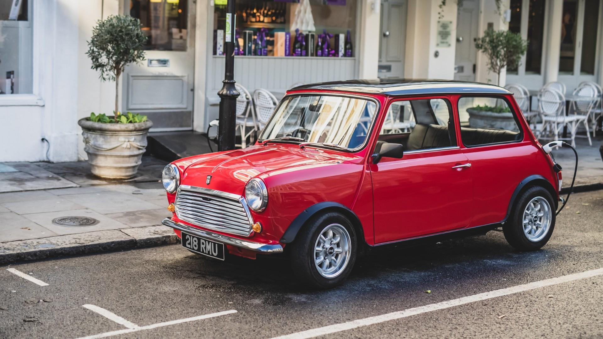 This Classic Mini Electric Conversion Costs $100,000