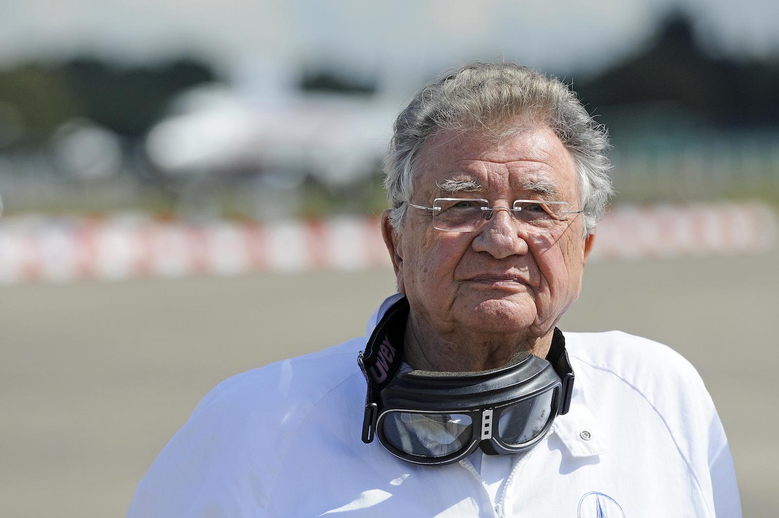 Legendary racing driver Hans Herrmann turns 90